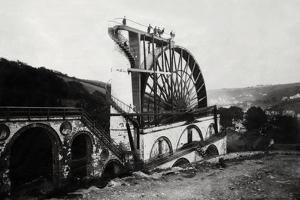 Laxey Waterwheel on the Isle of Man