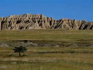 Landscape in Badlands National Park by Layne Kennedy