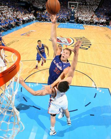 2014 NBA Playoffs Game 2: May 7, Los Angeles Clippers vs Oklahoma City Thunder - Blake Griffin by Layne Murdoch