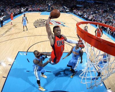Denver Nuggets v Oklahoma City Thunder by Layne Murdoch