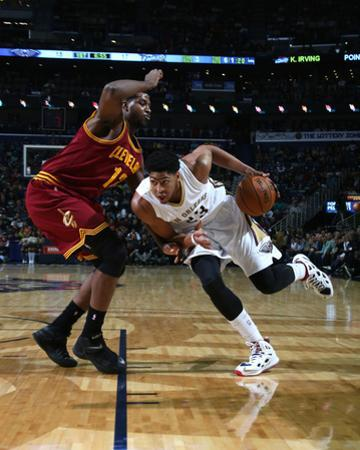 Cleveland Cavaliers v New Orleans Pelicans by Layne Murdoch Jr.