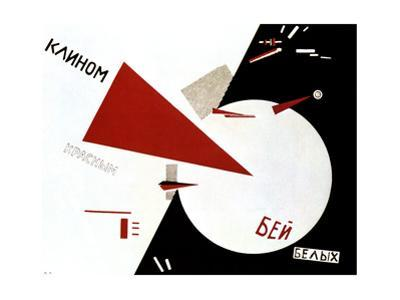 Beat the Whites with the Red Wedge, 1920