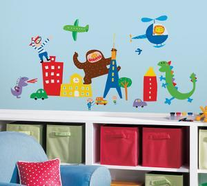 Lazoo Boy Peel and Stick Wall Decals