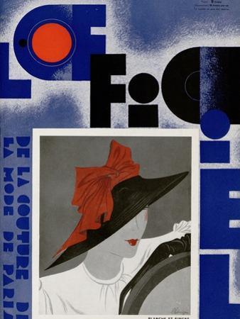 L'Officiel, May 1933 - Blanche et Simone by Lbengini & A.P. Covillot