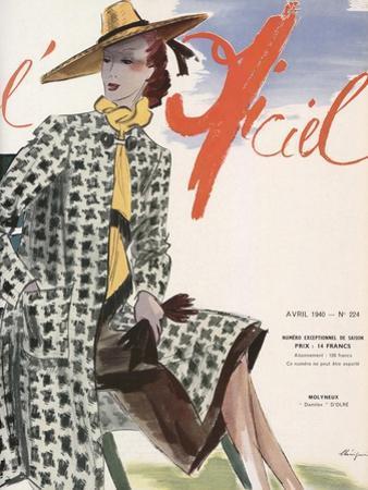 L'Officiel, April 1940 - Molyneux