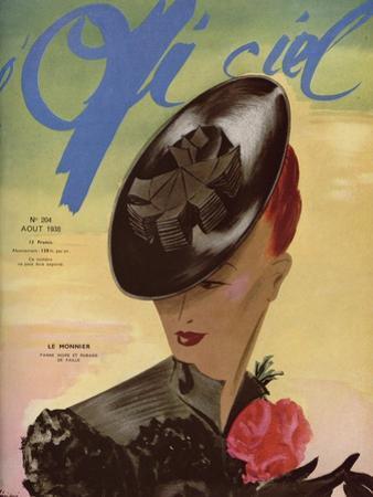 L'Officiel, August 1938 - Le Monnier