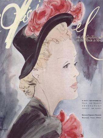 L'Officiel, August-September 1941 - Nouveaux Chapeaux d'Automne, Nouveaux Tissus d'Hiver by Lbenigni