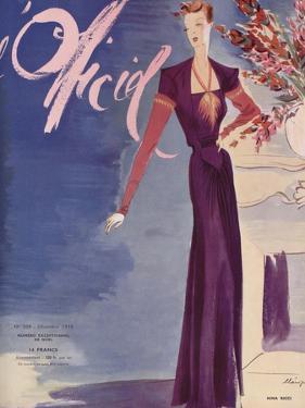 L'Officiel, December 1938 - Nina Ricci by Lbenigni