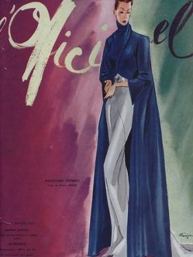 L'Officiel, February 1939 - Madeleine Vionnet by Lbenigni