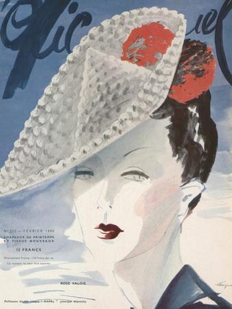 L'Officiel, February 1940 - Rose Valois by Lbenigni