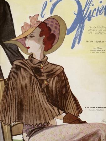 L'Officiel, July 1936 - A La Reigne d'Angleterre by Lbenigni