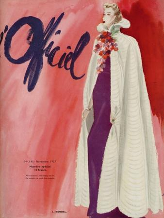 L'Officiel, July 1937 - Maria Guy by Lbenigni
