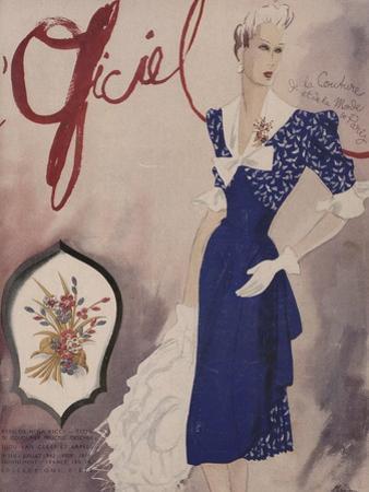 L'Officiel, July 1942 - Nina Ricci, Van Cleef et Arpels by Lbenigni