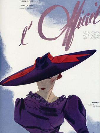 L'Officiel, June 1936 - Le Monnier by Lbenigni