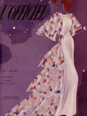 L'Officiel, June 1937 - Madeleine Vionnet by Lbenigni