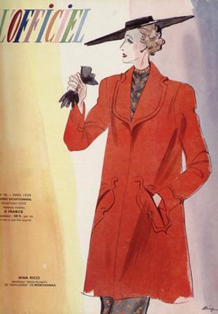 L'Officiel, March 1938 - Nina Ricci by Lbenigni