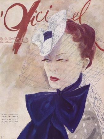 L'Officiel, March 1941 - Rose Valois by Lbenigni