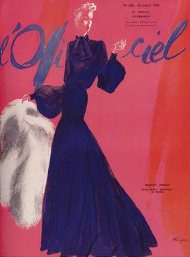 L'Officiel, October 1938 - Robert Piguet by Lbenigni