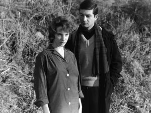 LE BEAU SERGE (aka Handsome Serge) by Claude Chabrol with ernadette Lafont and Jean-Claude Brialy,