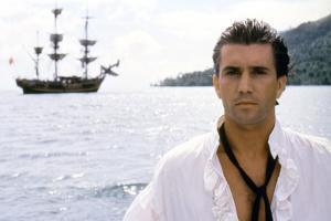 Le Bounty by Roger Donaldson with Mel Gibson, 1984 (photo)