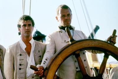 Le Bounty by Roger Donaldson with Mel Gibson and Anthony Hopkins, 1984 (photo)