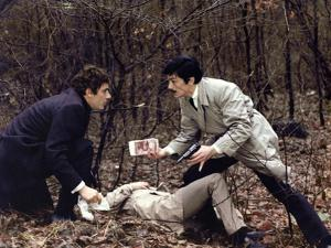Le Cercle Rouge The red circle by Jean-Pierre Melville with Gian-Maria Volonte, Alain Delon, 1970 (