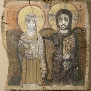 Le Christ et l'abbé Ména