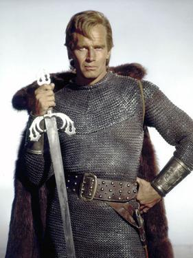 Le Cid EL CID by AnthonyMann with Charlton Heston, 1961 (photo)