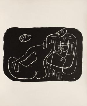 Entre-Deux No. 4 by Le Corbusier