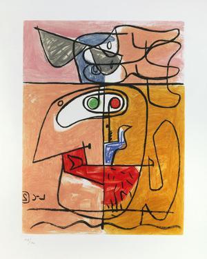 Unité, 1965 by Le Corbusier