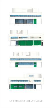 Villa Savoye, Paris by Le Corbusier