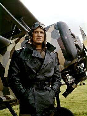 Le crepuscule des aigles (THE BLUE MAX) by JohnGuillermin with George Peppard, 1966 (photo)