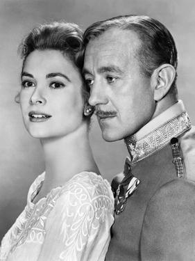 Le Cygne THE SWAN by CharlesVidor with Grace Kelly and Alec Guinness, 1956 (b/w photo)