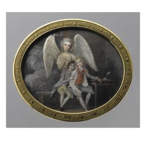 Le duc de Montpensier et le comte de Beaujolais en 1793, détenus pendant la Révolution, à la