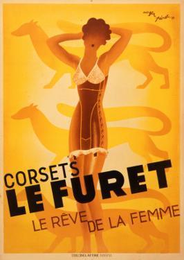 Le Furet Corsets Poster