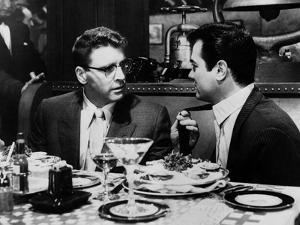 Le grand chantage SWEET SMELL OF SUCCESS by Alexander Mackendrick with Burt Lancaster, Tony Curtis,