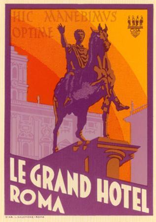 Le Grand Hotel, Roma