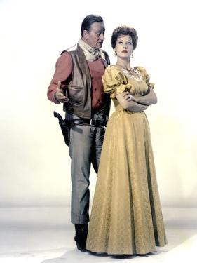 Le grand McLintock (McLINTOCK ! ) by Andrew V. McLaglen with John Wayne and Maureen O'Hara, 1963 (p