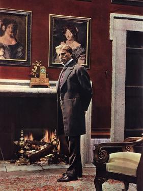 LE GUEPARD, 1963 par LUCHINO VISCONTI with Burt Lancaster (photo)