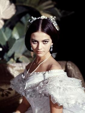 LE GUEPARD, 1963 par LUCHINO VISCONTI with Claudia Cardinale (photo)