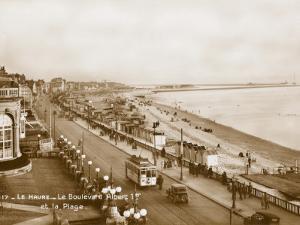 Le Havre, France - Boulevard Albert I