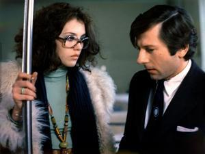 LE LOCATAIRE, 1976 directed by ROMAN POLANSKI Isabelle Adjani and Roman Polanski (photo)