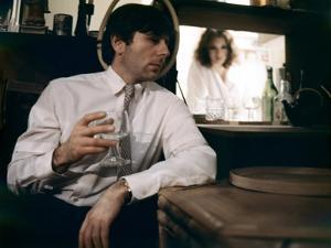 LE LOCATAIRE, 1976 directed by ROMAN POLANSKI Roman Polanski and Isabelle Adjani (photo)
