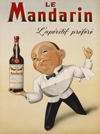 Le Mandarin L'Aperitif Prefere, 1932