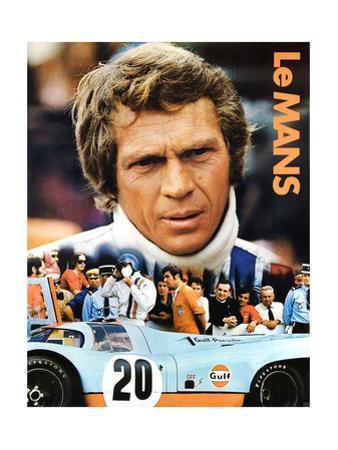 LE MANS, Steve McQueen, 1971.