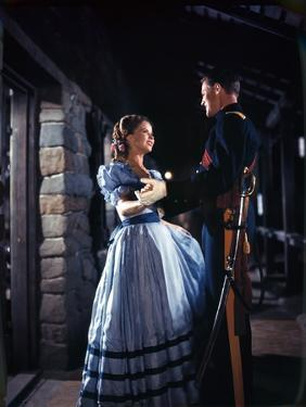 Le Massacre by Fort Apache (Fort Apache) by John Ford with Shirley Temple, John Agar (1er mari by S