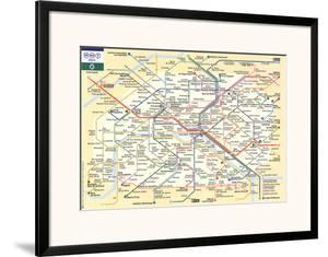 Le Metro de Paris