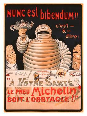 Le Pneu Michelin, Nunc Est Bibendum
