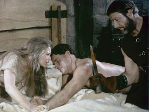 Le Seigneur by la Guerre THE WAR LORD by FranklinSchaffner with Rosemary Forsyth, Charlton Heston a