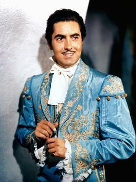 Le signe by Zorro MARK OF ZORRO by Rouben Mamoulian with Tyrone Power, 1940 (photo)